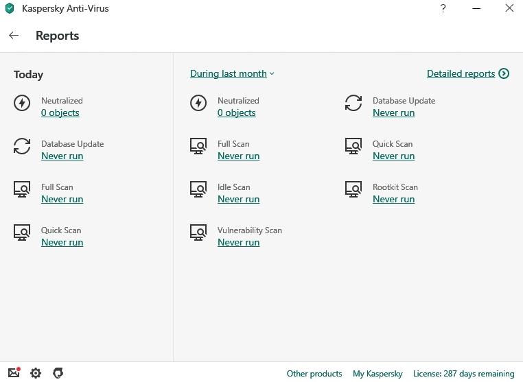Kaspersky Malware Protection, Bericht von Kaspersky Lab.