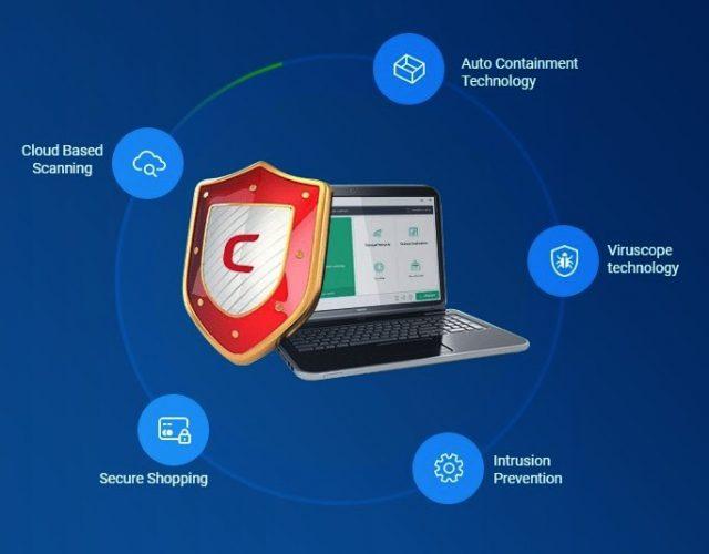 Comodo Antivirus: Kostenlos, Cloud Antivirus und Internet-Sicherheit
