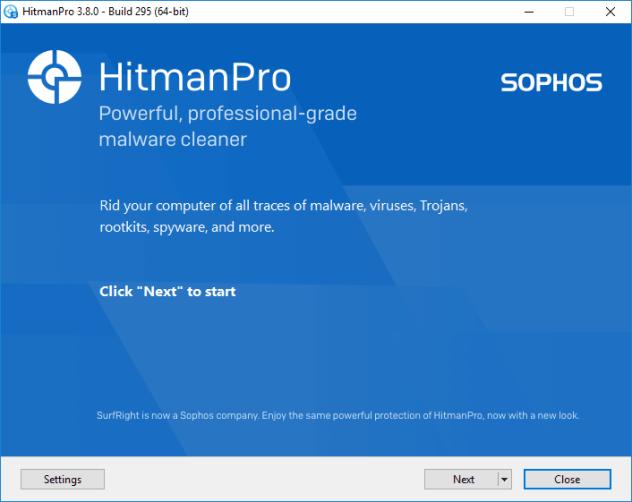 Installation von HitmanPro überprüfen