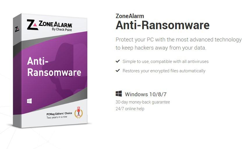ZoneAlarm Anti-Bransomware