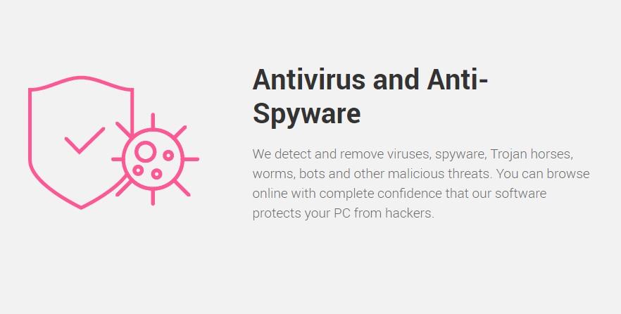 ZoneAlarm Spyware-Schutz