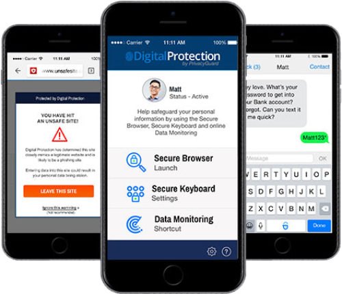 Überprüfung von PrivacyGuard, Benutzerfreundlichkeit, PrivacyGuard Android App, bester Schutz vor Identitätsdiebstahl