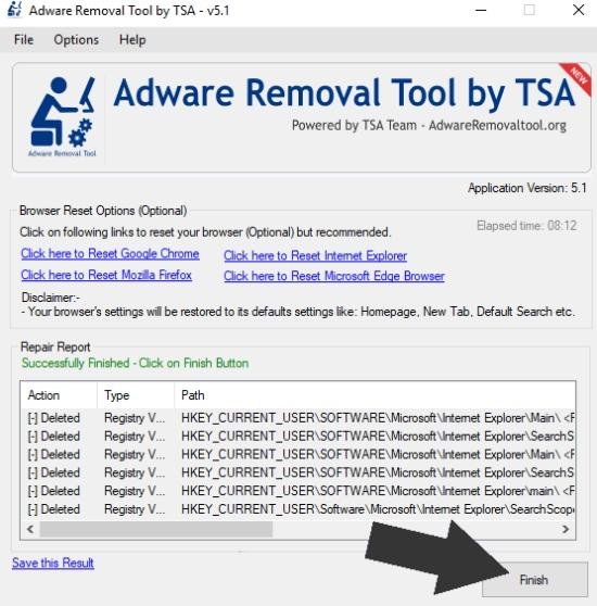 Adware-Reiniger, bester Adware-Reiniger, TSA-Entfernungstool, Adware-Reiniger