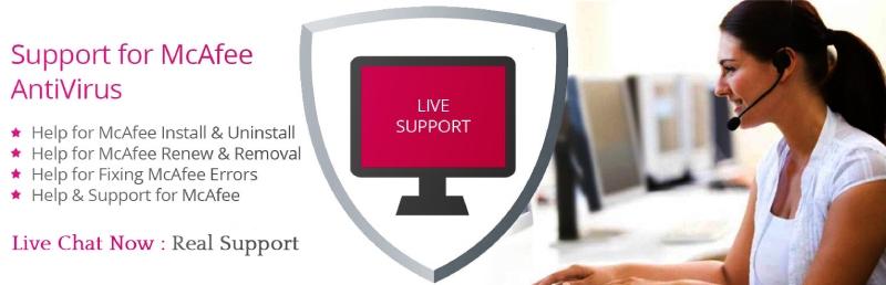 Unterstützung von McAfee Antivirus.