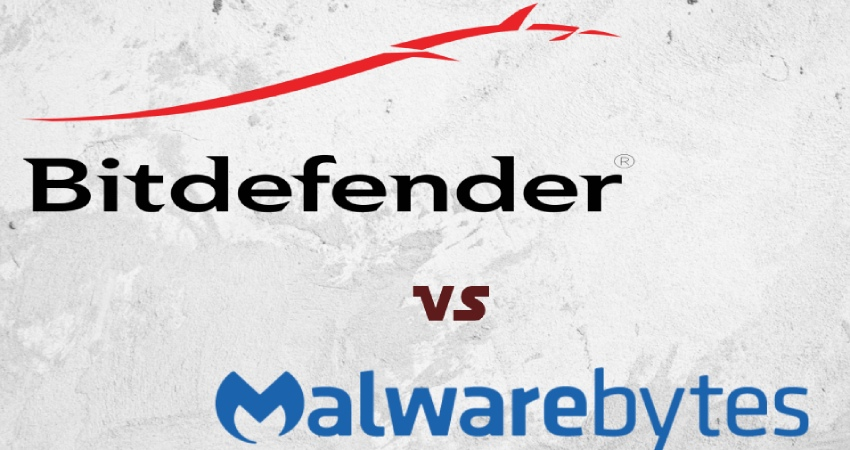 Vergleich zwischen Bitdefender und Malwarebytes.