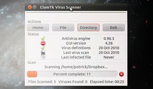 ClamAV Ubuntu-Installation.