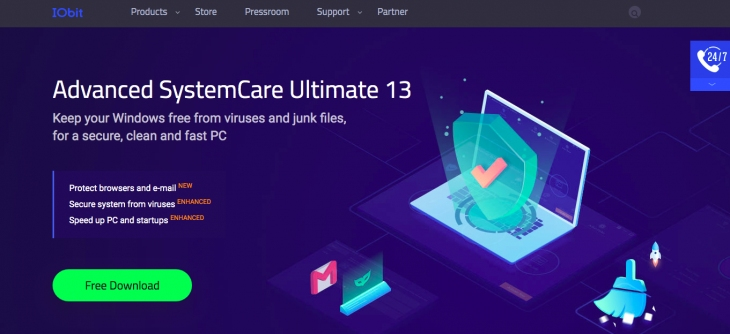 Was ist IObit Advanced System Care.