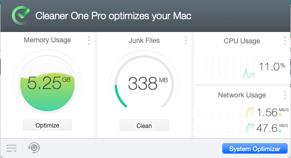Cleaner One Pro für Mac.